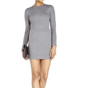 • Cedric Charlier • Seamed Knit Dress Gray 6